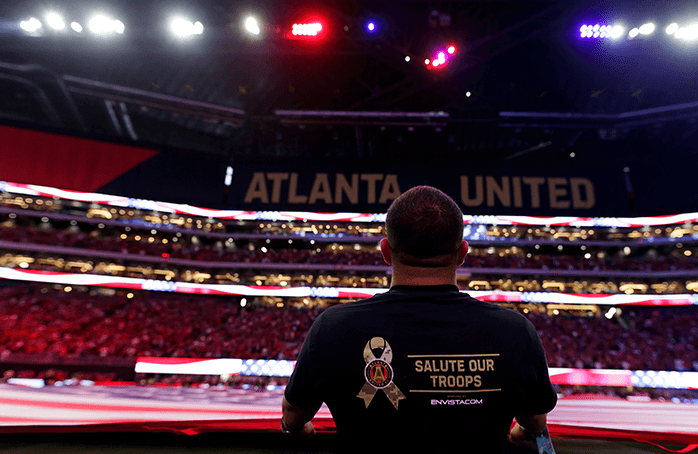 Atlanta United Military Outreach (ATL UTD)